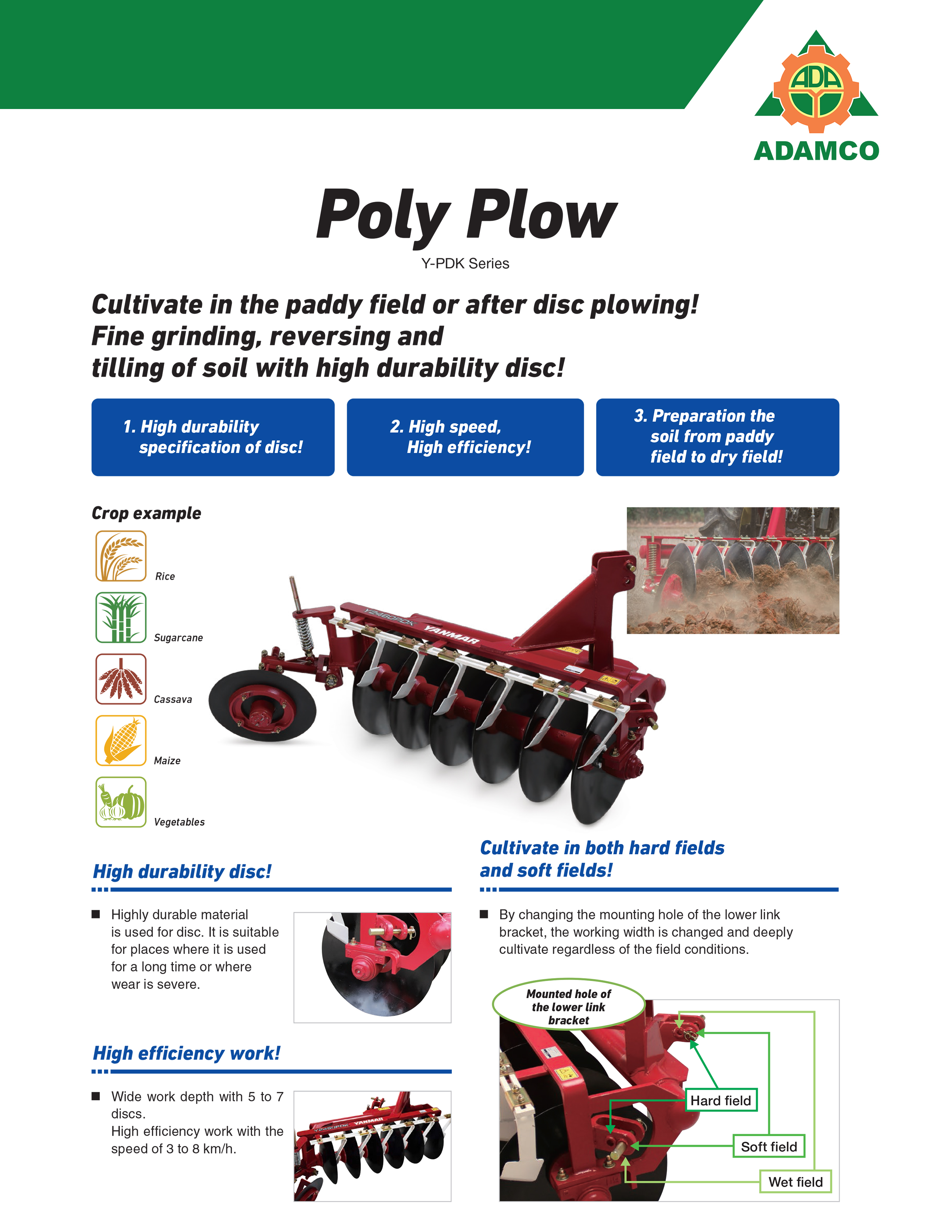 Poly Plow YPDK1