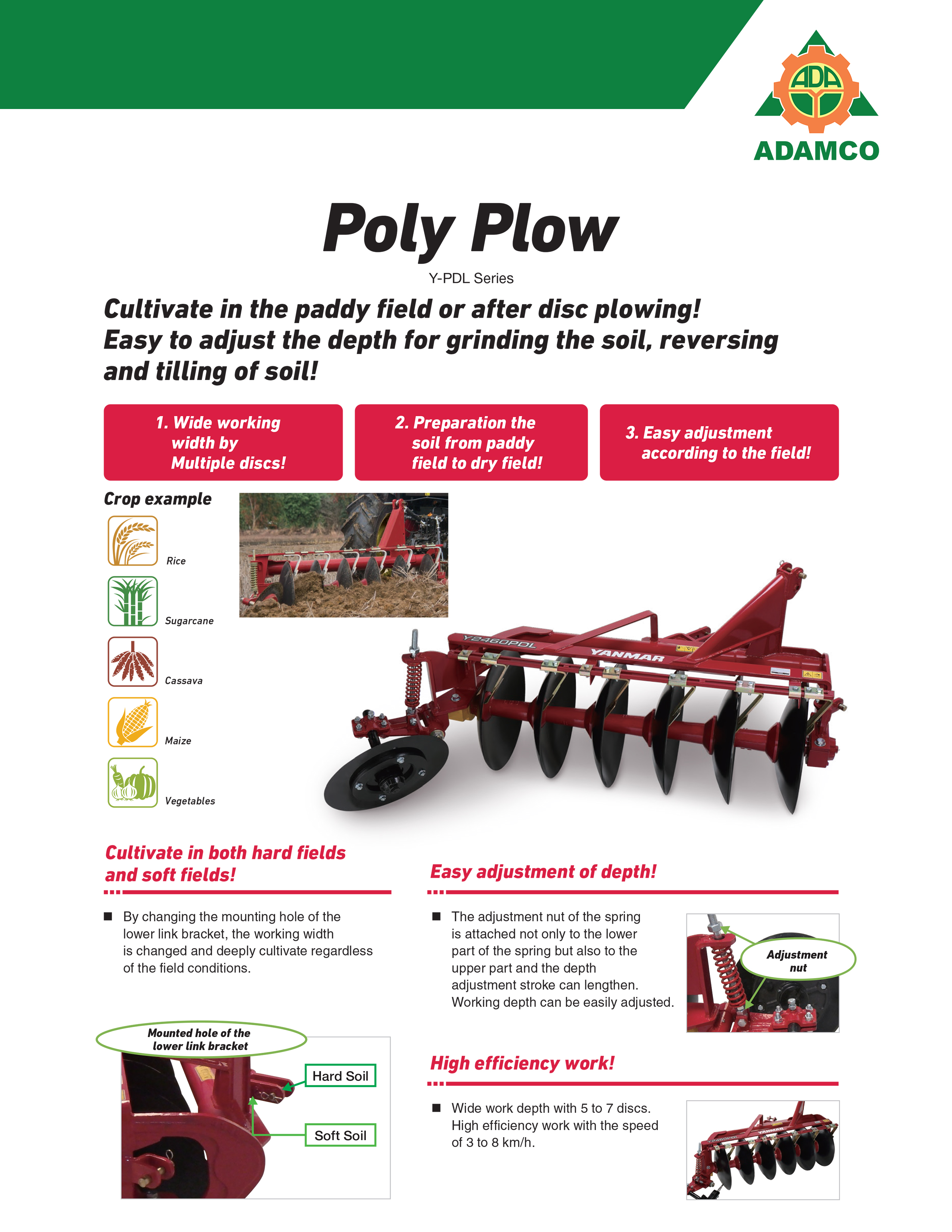 Poly Plow YPDL 1