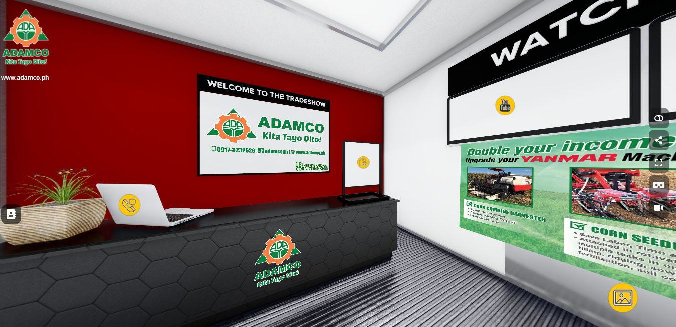 ADAMCO's virtual booth